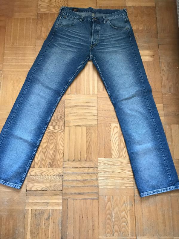 Lee 101B Selvedge 34x36. 2.JPG