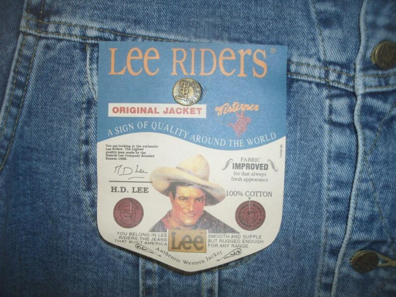 Lee riders jacket size L made in Belgum 3.jpg