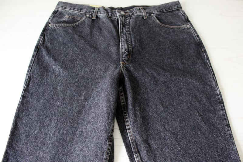 Rifle jeans 40x34 blackwashed made in Italy 2.jpg
