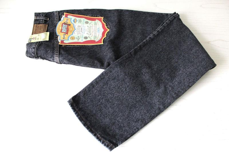 Rifle jeans 40x34 blackwashed made in Italy 1.jpg
